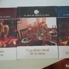 Libros: EL ARTE DE SERVIR LA MESA. Lote 227899580
