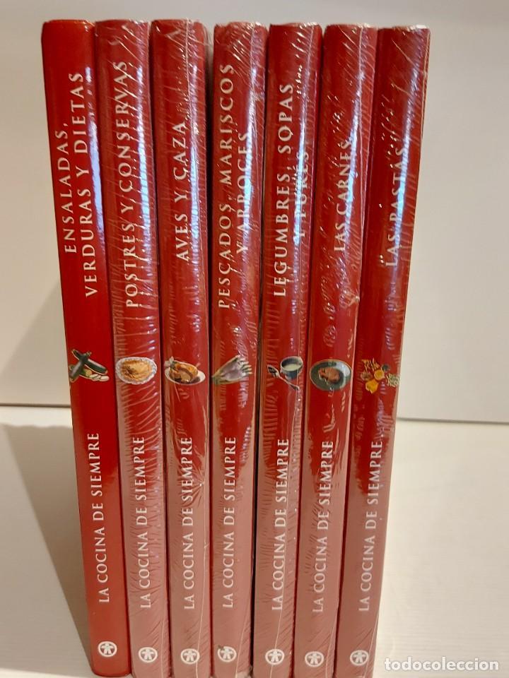 Libros: LA COCINA DE SIEMPRE / CLUB INTERNACIONAL DEL LIBRO-2010 / COMPLETA 7 TOMOS (6 PRECINTADOS) - Foto 9 - 228950770