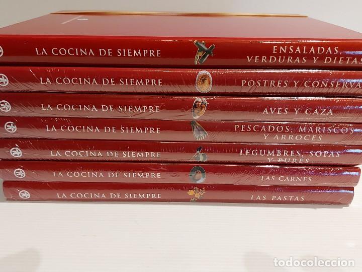Libros: LA COCINA DE SIEMPRE / CLUB INTERNACIONAL DEL LIBRO-2010 / COMPLETA 7 TOMOS (6 PRECINTADOS) - Foto 10 - 228950770