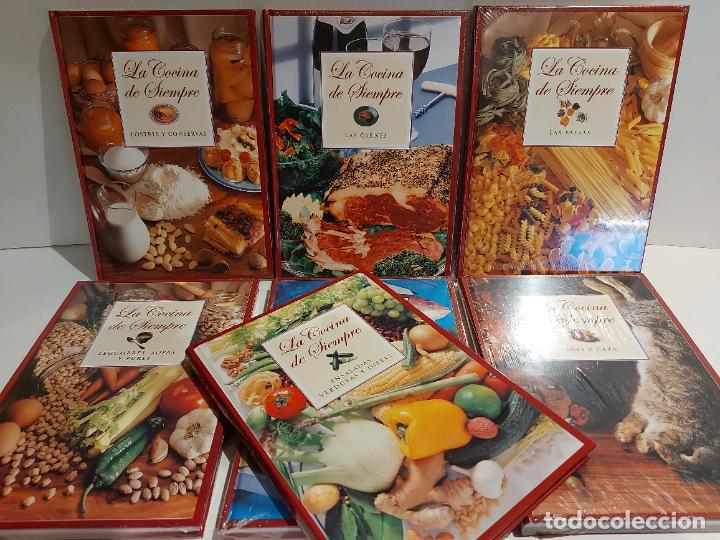 LA COCINA DE SIEMPRE / CLUB INTERNACIONAL DEL LIBRO-2010 / COMPLETA 7 TOMOS (6 PRECINTADOS) (Libros Nuevos - Ocio - Cocina y Gastronomía)