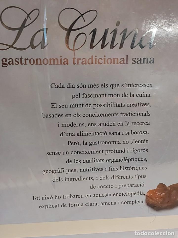Libros: LA CUINA / GASTRONOMIA TRADICIONAL SANA / JAUME FÀBREGA / ED: MEDITERRÀNIA-2007 / LEER - Foto 6 - 228999320