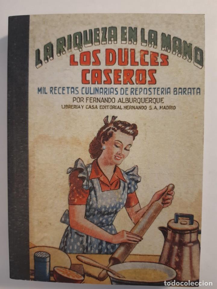 Libros: 16 libros facsímiles relativos a la GASTRONOMÍA. Cocina casera tradicional española Repostería - Foto 6 - 235537880