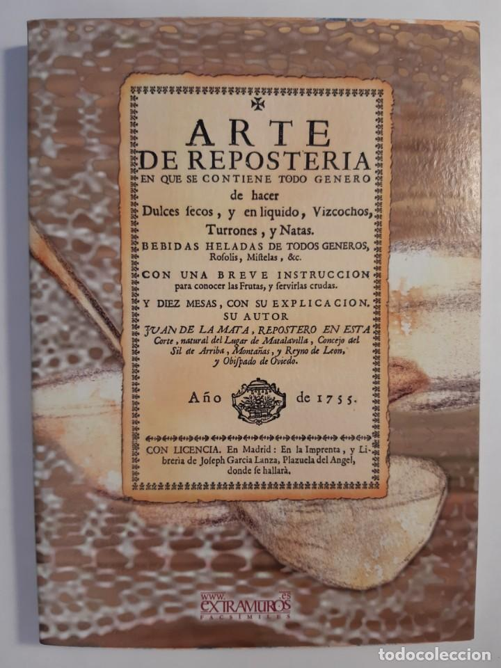 Libros: 16 libros facsímiles relativos a la GASTRONOMÍA. Cocina casera tradicional española Repostería - Foto 8 - 235537880