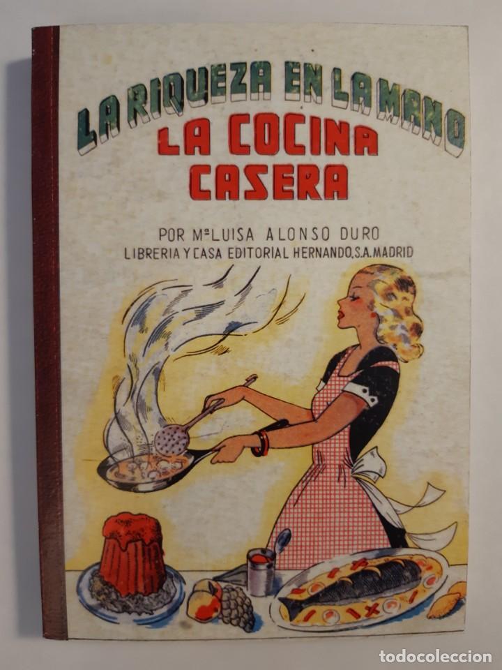 Libros: 16 libros facsímiles relativos a la GASTRONOMÍA. Cocina casera tradicional española Repostería - Foto 9 - 235537880