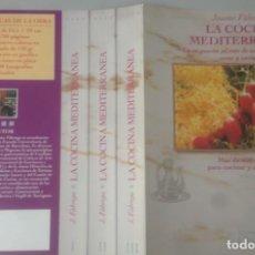 Libros: LA COCINA MEDITERRANEA, DE JAUME FÁBREGA, 3 TOMOS. Lote 236229795