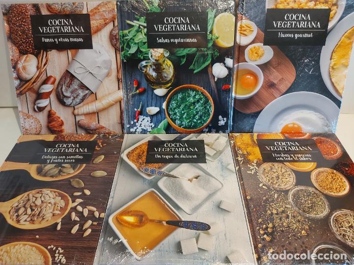 COCINA VEGETARIANA / NÚMEROS 10 AL 15 / TODOS PRECINTADOS / OCASIÓN !! (Libros Nuevos - Ocio - Cocina y Gastronomía)