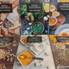 Libros: COCINA VEGETARIANA / NÚMEROS 10 AL 15 / TODOS PRECINTADOS / OCASIÓN !!. Lote 236506005