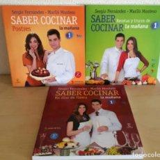 Libros: SABER COCINAR, DE SERGIO FERNÁNDEZ Y MARILÓ MONTERO. Lote 238500820