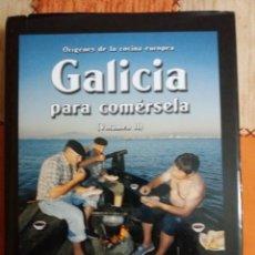 Libros: GALICIA PARA COMERSELA. Lote 240943380