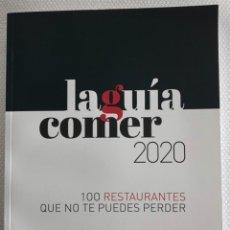 Libros: LA GUÍA COMER 2020. Lote 244495330