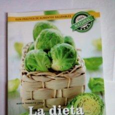 Libros: LA DIETA ANTICANCER - MARÍA TRANSITO LOPEZ. Lote 244659070