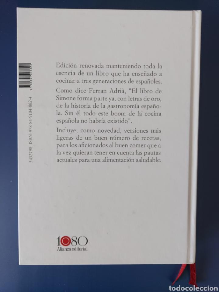 Libros: Libro 1080 recetas de cocino de Simone Ortega edición de lujo - Foto 2 - 252756805