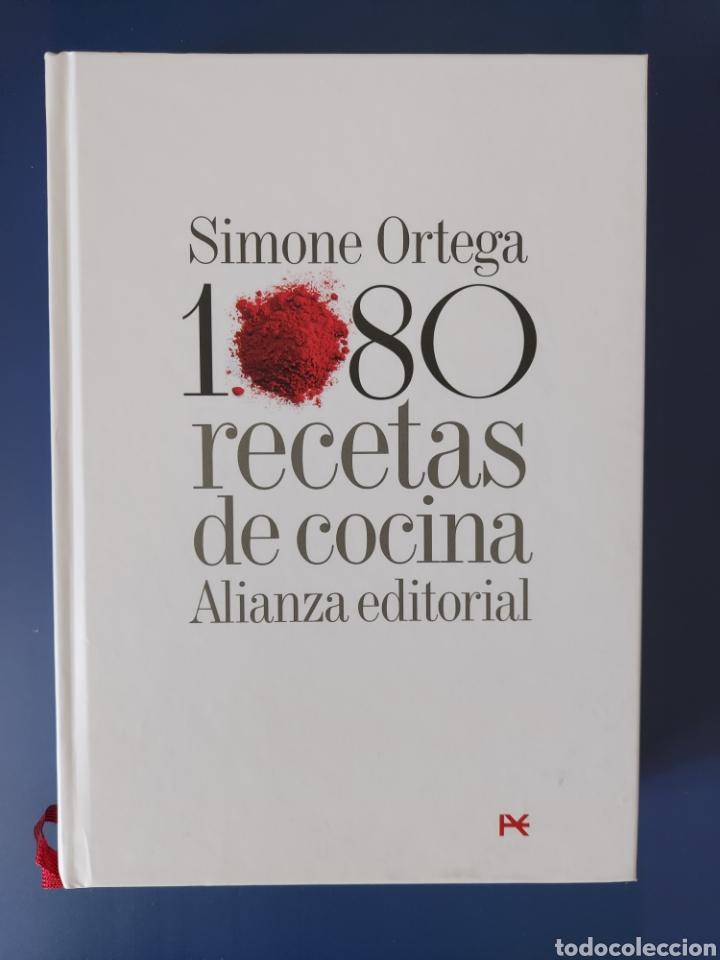 LIBRO 1080 RECETAS DE COCINO DE SIMONE ORTEGA EDICIÓN DE LUJO (Libros Nuevos - Ocio - Cocina y Gastronomía)