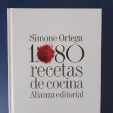 Libros: LIBRO 1080 RECETAS DE COCINO DE SIMONE ORTEGA EDICIÓN DE LUJO. Lote 252756805