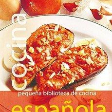Libros: COCINA ESPAÑOLA. PEQUEÑA BIBLIOTECA DE COCINA. Lote 254253265