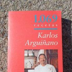 Libros: LOTE LIBROS KARLOS ARGUIÑANO. Lote 254289465