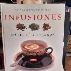 Libros: ATLAS ILUSTRADO DE LAS INFUSIONES CAFE,TE,Y TISANAS SUSAETA. Lote 254712915