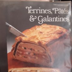 Libros: TERRINES,PATES,GALANTINES (GOOD COOK S.). Lote 254725865