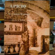 Libros: APICIO. COCINA ROMANA . EDITORIAL COLOQUIO. Lote 255464355