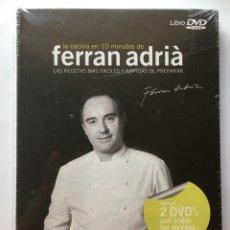 Libros: LA COCINA EN 10 MINUTOS DE FERRÁN ADRIÁ LIBRO + 2 DVD. Lote 255478250