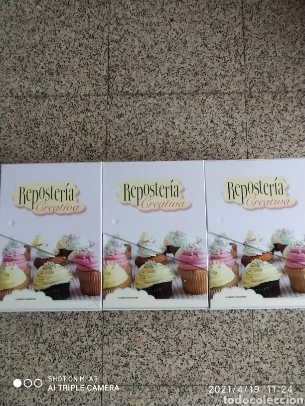 REPOSTERÍA CREATIVA VARIAS FICHAS PASO A PASO. (Libros Nuevos - Ocio - Cocina y Gastronomía)
