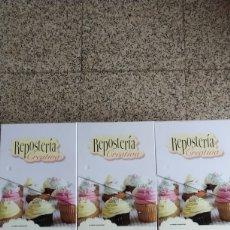 Libros: REPOSTERÍA CREATIVA VARIAS FICHAS PASO A PASO.. Lote 255940595