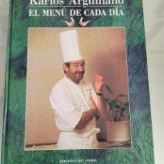 Libros: EL MENÚ DE CADA DÍA. KARLOS ARGUIÑANO.. Lote 257386910