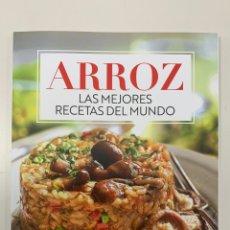 Libros: ARROZ - LAS MEJORES RECETAS DEL MUNDO- NUEVO. Lote 257652950