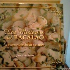 Livres: JUAN LUIS ARAÑA LOS MISTERIOS DEL BACALAO. GRAFO S. A.. Lote 266453208