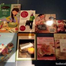 Libros: PACK DE LIBROS DE COCINA Y REPOSTERÍA ( NO SE VENDEN SEPARADOS ). Lote 269742418