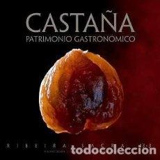Libros: CASTAÑA: PATRIMONIO GASTRONÓMICO. Lote 272260918
