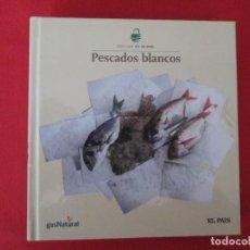 Libros: COCINA DEL PAIS PESCADOS BLANCOS. Lote 273076078
