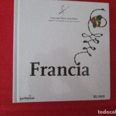 Libros: COCINA PAIS POR PAIS FRANCIA. Lote 273077073