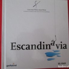 Libros: COCINA PAIS POR PAIS ESCANDINAVIA. Lote 273077843