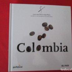 Libros: COCINA PAIS POR PAIS COLOMBIA. Lote 273077973