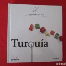 Libros: COCINA PAIS POR PAIS TURQUIA. Lote 273078068