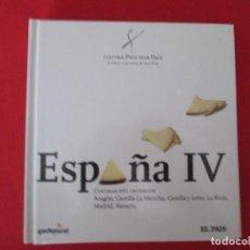 Libros: COCINA PAIS POR PAIS ESPAÑA IV. Lote 273078983