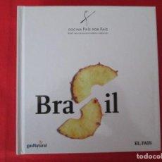 Libros: COCINA PAIS POR PAIS BRASIL. Lote 273079323