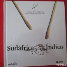 Libros: COCINA PAIS POR PAIS SUDAFRICA INDICO. Lote 273079653