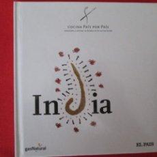 Libros: COCINA PAIS POR PAIS INDIA. Lote 273079778