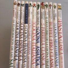 Libros: ENCICLOPEDIA DE COCINA. 12 VOLÚMENES. Lote 275595648