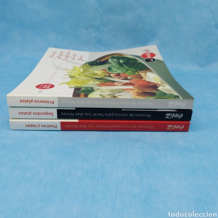 Libros: 3 Libros Coca-Cola. Recetas de cocina para hacer tus días felices. Año 2010. Nuevos a estrenar. - Foto 2 - 275904178