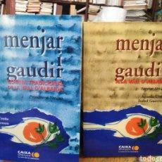 Libros: MENJAR I GAUDIR-2 TOMOS-COCINA TRADICIONAL DE LA VALL D' ALBAIDA-AGUEDA UREÑA-EDITA CAIXA ONTINYENT. Lote 286603993