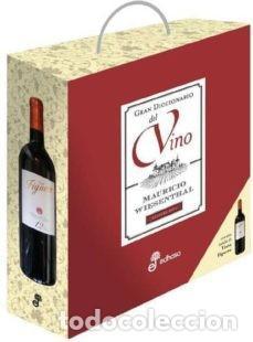 GRAN DICCIONARIO DEL VINO (2011) - INCLUYE BOTELLA RIBERA DEL DUERO !!! - ISBN: 9788435065207 (Libros Nuevos - Ocio - Cocina y Gastronomía)