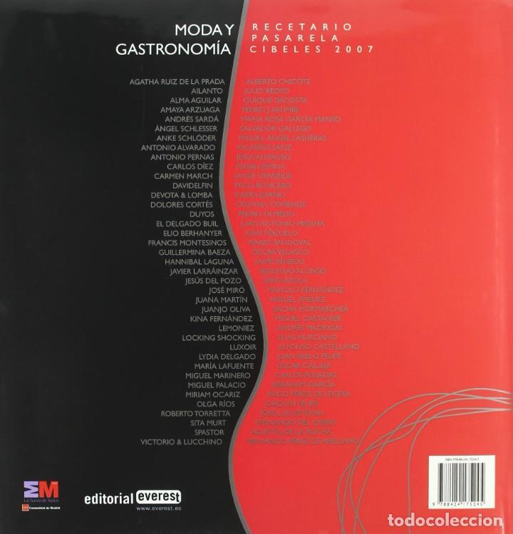 Libros: MODA Y GASTRONOMIA - RECETARIO (2008) - SACHA HORMAECHEA & TERESA GARAIZABAL - ISBN: 9788424175245 - Foto 2 - 287112823