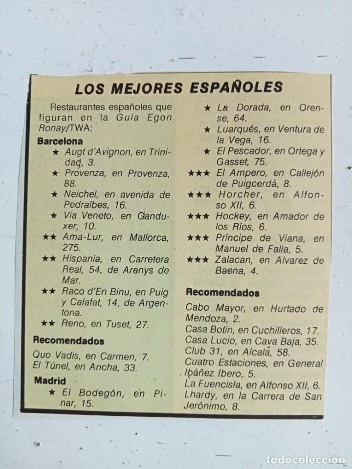 Libros: Madrid gastronómico, Cofradía de la buena mesa 1974 - Foto 8 - 287185258