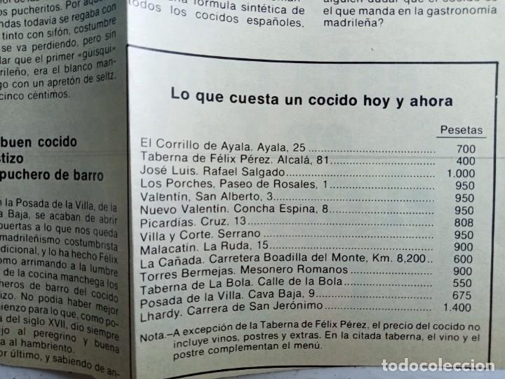 Libros: Madrid gastronómico, Cofradía de la buena mesa 1974 - Foto 9 - 287185258