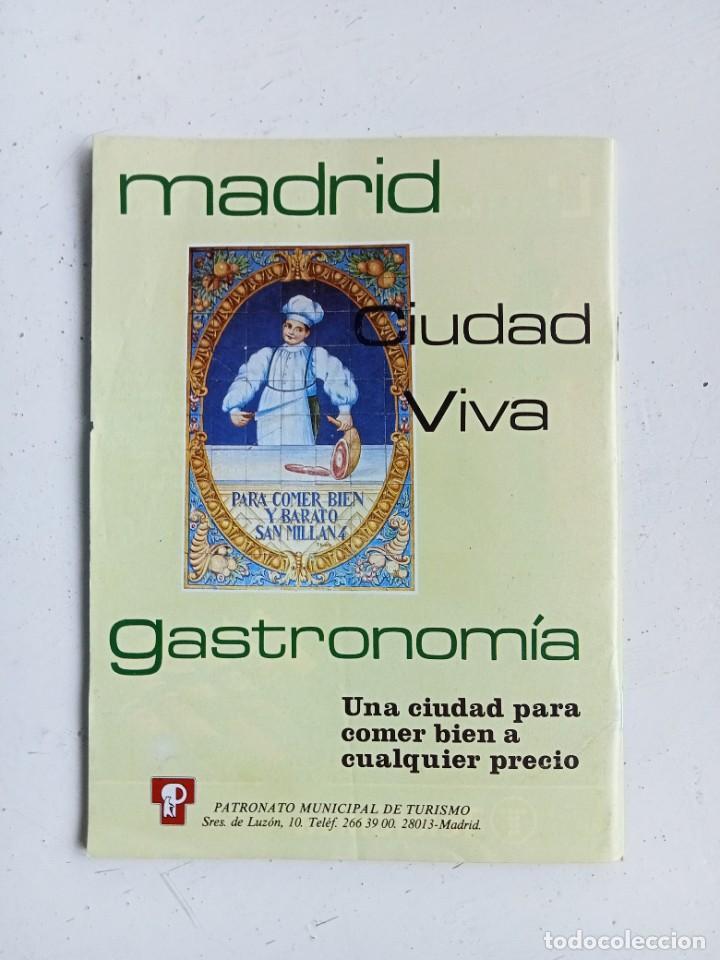 Libros: Comer barato en Madrid y Alcalá de Henares, invierno 1987, Patronato Municipal de Turismo - Foto 3 - 287185363