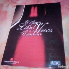 Libros: EL GRAN LIBRO DE LOS VINOS DE ESPAÑA.. Lote 287349278