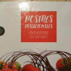 Libros: POSTRES TRADICIONALES - UN PLACER PARA LOS SENTIDOS!. Lote 288029683